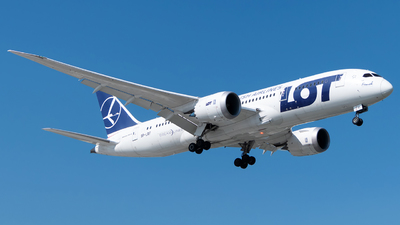 SP-LRF - Boeing 787-8 Dreamliner - LOT Polish Airlines
