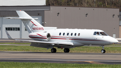 N110WS - Raytheon Hawker 800XP - Private