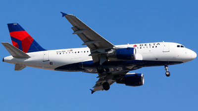 A picture of N363NB - Airbus A319114 - Delta Air Lines - © Alec Mollenhauer