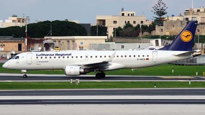 A picture of DAECA - Embraer E190LR - Lufthansa - © Buzu