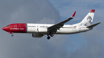 A picture of LNNIE - Boeing 7378JP - Norwegian - © Matei Ioan Dascalu