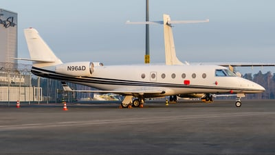 N96AD - Gulfstream G150 - Private