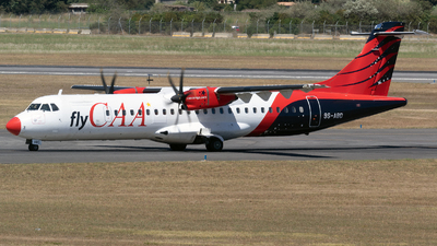 9S-ABD - ATR 72-212A(500) - Compagnie Africaine d Aviation (CAA)