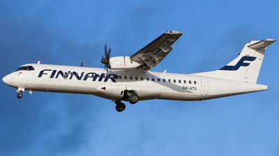 OH-ATG - ATR 72-212A(500) - Finnair (Nordic Regional Airlines NORRA)