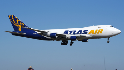 A picture of N489MC - Boeing 747412(F) - Atlas Air - ©  JC