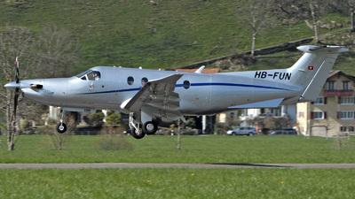 HB-FUN - Pilatus PC-12/47E - Private
