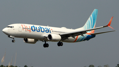 A picture of A6FGB - Boeing 7378KN - FlyDubai - ©  Rohit  Ramachandran