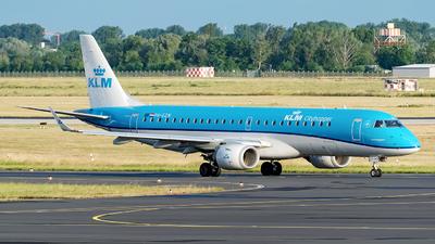 A picture of PHEZN - Embraer E190STD - KLM - © Sebastian Thiel