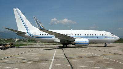 VP-CEC - Boeing 737-7AW(BBJ) - Private