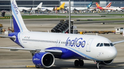 A picture of VTIZE - Airbus A320271N - IndiGo - © Adrian Fong