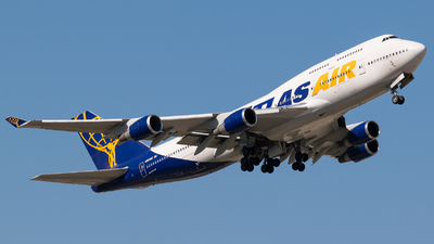 N464MC - Boeing 747-446 - Atlas Air