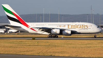 A picture of A6EDE - Airbus A380861 - Emirates - © Will.Taylor