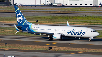 A picture of N512AS - Boeing 737890 - Alaska Airlines - © Devon McCune