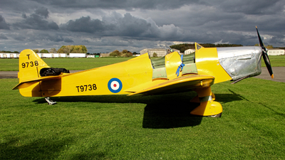 G-AKAT - Miles M14A Magister - Private