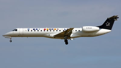 G-RJXI - Embraer ERJ-145LR - bmi British Midland International