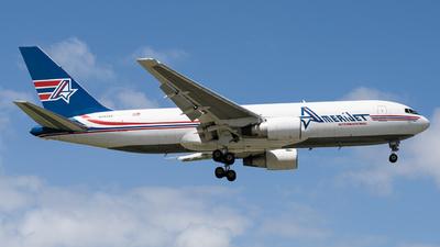 A picture of N743AX - Boeing 767232(BDSF) - Amerijet International - © Boneyard Safari - Daniel Gonzalez