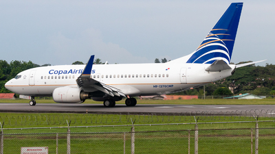 HP-1378CMP - Boeing 737-7V3 - Copa Airlines