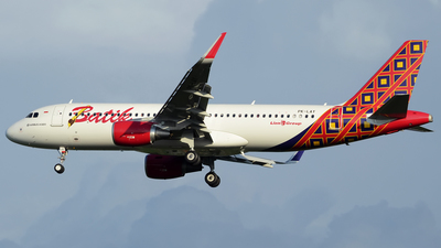 PK-LAY - Airbus A320-214 - Batik Air