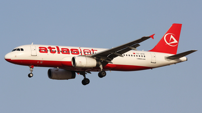 TC-ATK - Airbus A320-232 - AtlasJet