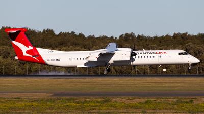 A picture of VHQOT - De Havilland Canada Dash 8400 - Qantas - © Brandon Giacomin