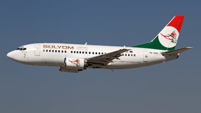 HA-SHA - Boeing 737-505 - Sólyom Hungarian Airways