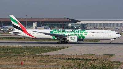 A picture of A6EPL - Boeing 77731H(ER) - Emirates - © kuailedeann