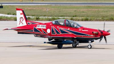 A picture of HBHWH - Pilatus PC21 -  - © Enzo Gattullo - Plane Spotters Bari