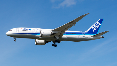 JA813A - Boeing 787-8 Dreamliner - All Nippon Airways (ANA)
