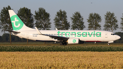 PH-HZE - Boeing 737-8K2 - Transavia Airlines