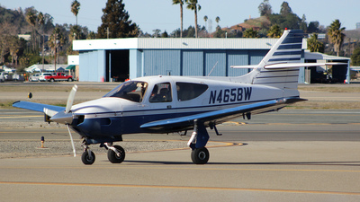 A picture of N4658W - Rockwell Commander 112TCA - [13188] - © Jamie West