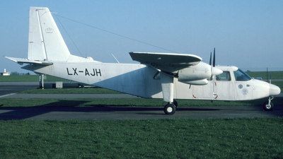 LX-AJH - Britten-Norman BN-2A-26 Islander - CAE Aviation