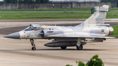 2029 - Dassault Mirage 2000-5 - Taiwan - Air Force