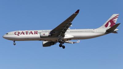 A7-AEJ - Airbus A330-302 - Qatar Airways