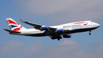G-BNLG - Boeing 747-436 - British Airways