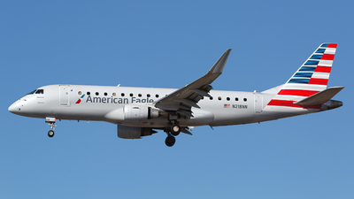 A picture of N218NN - Embraer E175LR - American Airlines - © Chris Pitchacaren