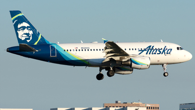 N528VA - Airbus A319-112 - Alaska Airlines
