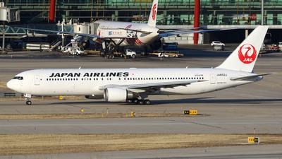 JA652J - Boeing 767-346(ER) - Japan Airlines (JAL)
