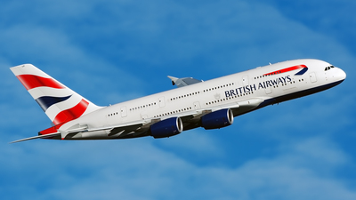 G-XLEI - Airbus A380-841 - British Airways