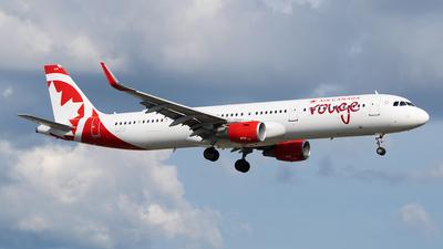 C-GHQI - Airbus A321-211 - Air Canada Rouge