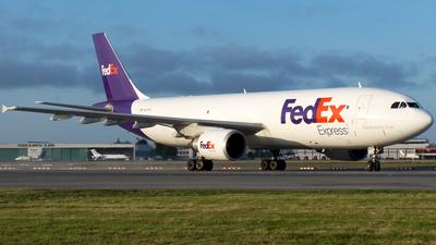 A picture of N675FE - Airbus A300F4605R - FedEx - © Derek MacPherson