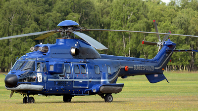 D-HEGE - A�rospatiale AS 332A Super Puma - Germany - Bundespolizei