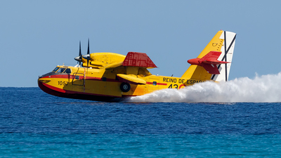 UD.13-16 - Canadair CL-215T - Spain - Air Force