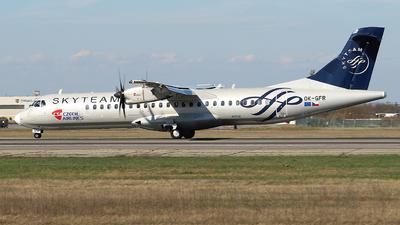 A picture of OKGFR - ATR 72500 - Czech Airlines - © Calin Horia Lupu
