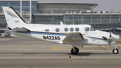 N422AS - Beechcraft C90A King Air - Private