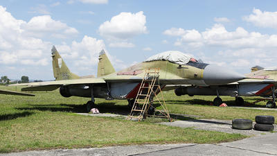5515 - Mikoyan-Gurevich MiG-29A Fulcrum - Slovakia - Air Force