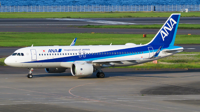 A picture of JA222A - Airbus A320271N - All Nippon Airways - © tomobile