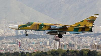 5-6858 - Sukhoi Su-24M Fencer - Iran - Air Force