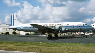 926 - Douglas DC-6B - Guatemala - Air Force
