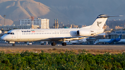 A picture of EPCFM - Fokker 100 - Iran Air - © Mohammad Rozve