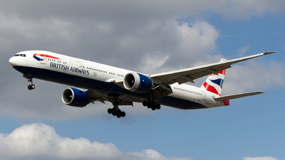 A picture of GSTBL - Boeing 777336(ER) - British Airways - © Ethan Hew - p_nilly